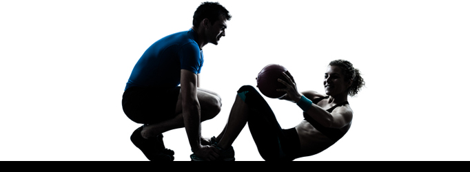 personal trainer slider