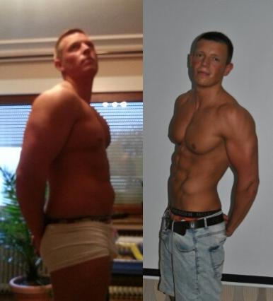 Brust natural Bodybuilder Thomas