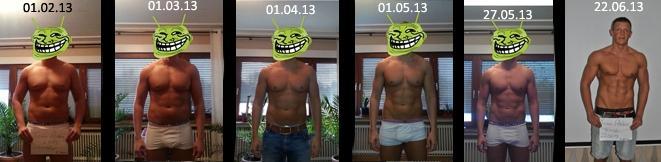natural Bodybuilder Thomas