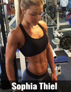 Sophia Thiel Fitness Model