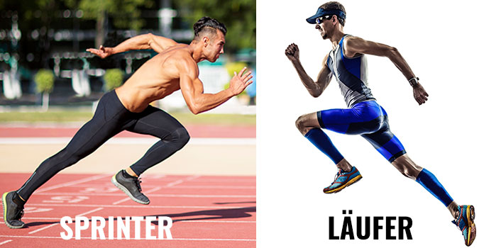 Sprinter vs Läufer