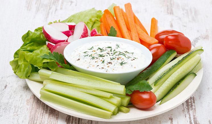 Abnehmtipps Gemüse Sticks