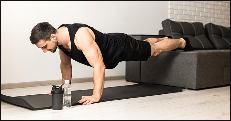 Muskelaufbau Trainingsplan Zuhause