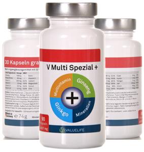 Multivitamin Nahrungsergänzungsmittel sinnvoll
