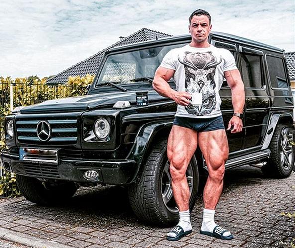 Patrick Teutsch Beine