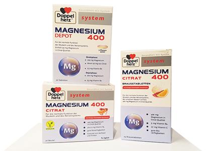 Doppelherz Magnesium Citrat 400