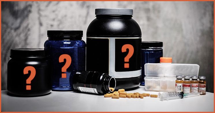 Supplements für Muskelaufbau