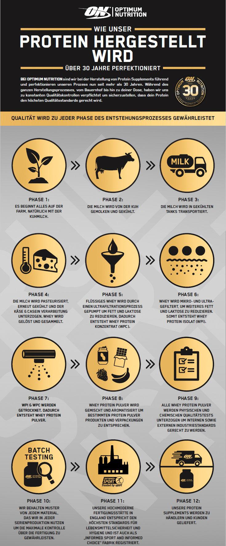 Wie wird Proteinpulver hergestellt