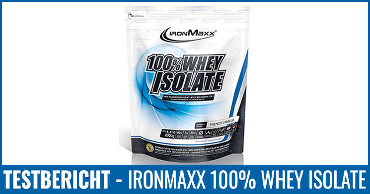 Ironmaxx Whey Isolate Test