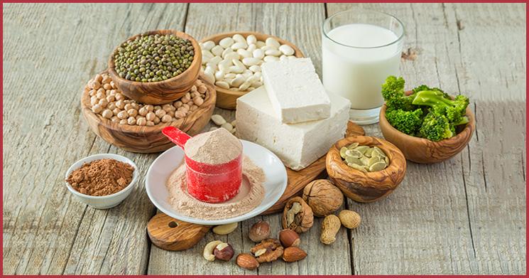 veganes Proteinpulver Proteinquellen
