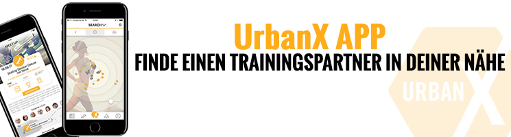 UrbanX App Trainingspartner finden