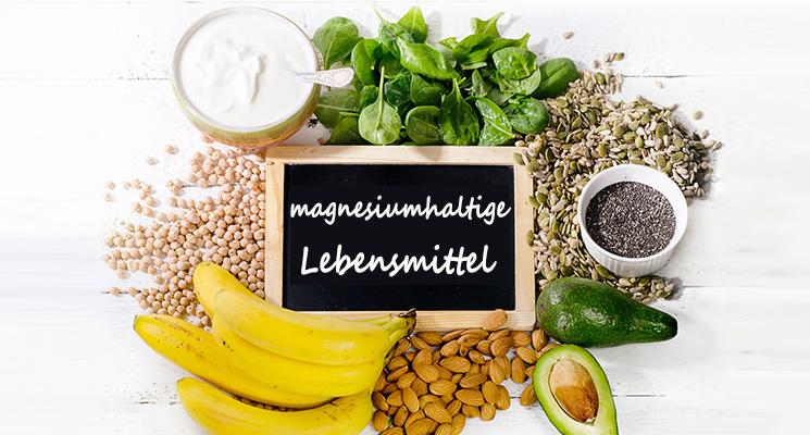 magnesiumhaltige Nahrungsmittel