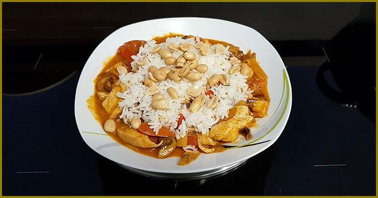 Curry Hähnchen Rezept