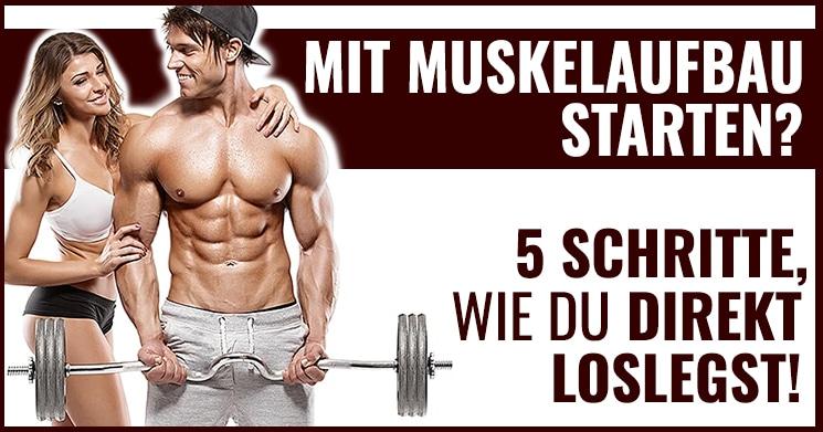 Mit Muskelaufbau starten