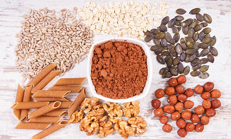 Lebensmittel mit viel Kupfer