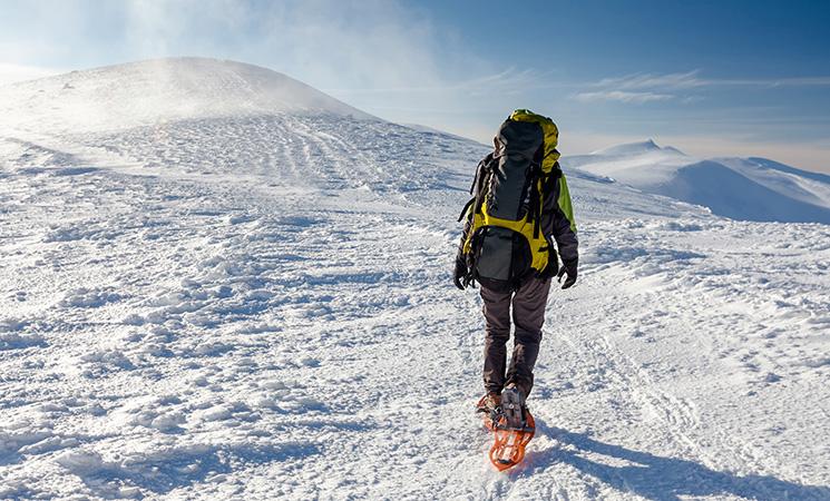Sport-im-Winter-Schneeschuhwandern