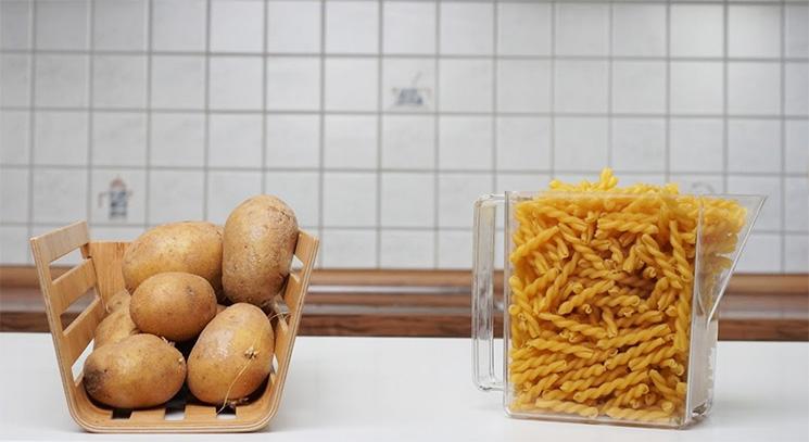Kartoffel vs. Nudeln