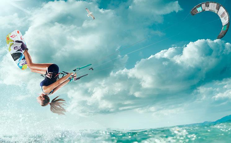 Kitesurfen für Profis