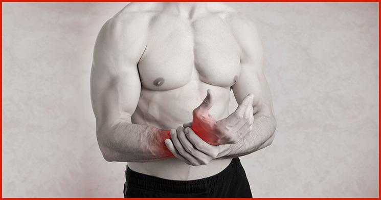Sehnenscheidenentzündung durch Sport