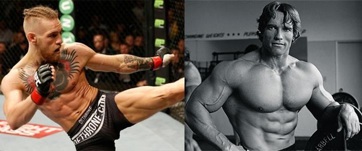 Kampfsport und Bodybuilding