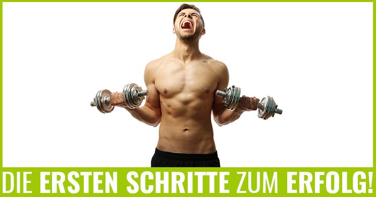 Muskeltraining starten